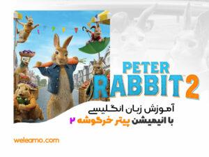 پکیج آموزش زبان انگلیسی با انیمیشن پیتر خرگوشه 2